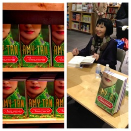 Amy Tan at Powell's in Portland